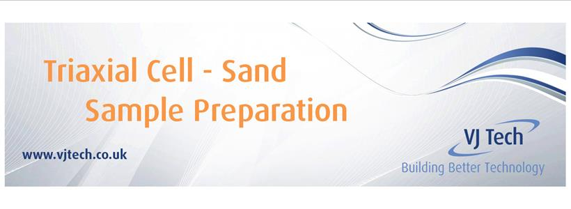 Triaxial Cell Sand Sample Preparation