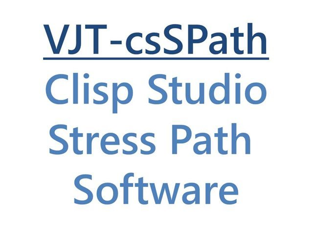 Clisp Studio Stress Path Software Module