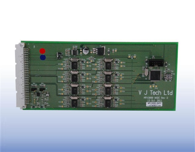 VJT3000-8A - Internal 8-Channel Analogue Card for MPX3000