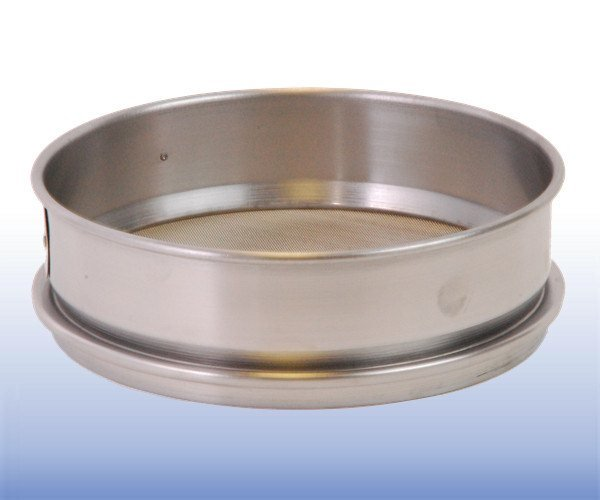 Stainless Steel Mesh Sieve (12 inch diameter - selected µm apertures)
