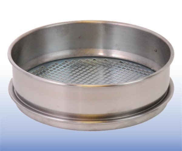 VJT-008W-xxx.xxMM - Stainless Steel Mesh Sieve (8 inch diameter - selected mm apertures)
