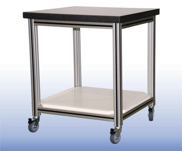Framed Triaxial Table For TS 50 With Additional Shelf