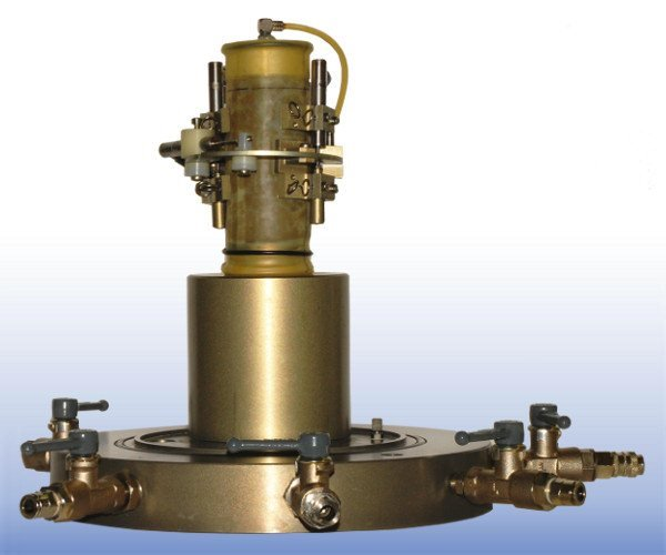 On-Sample Transducer Testing System