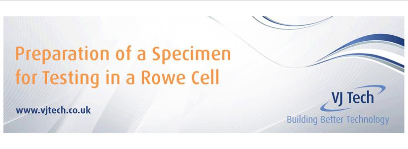 Sample Preparation - Rowe Cell