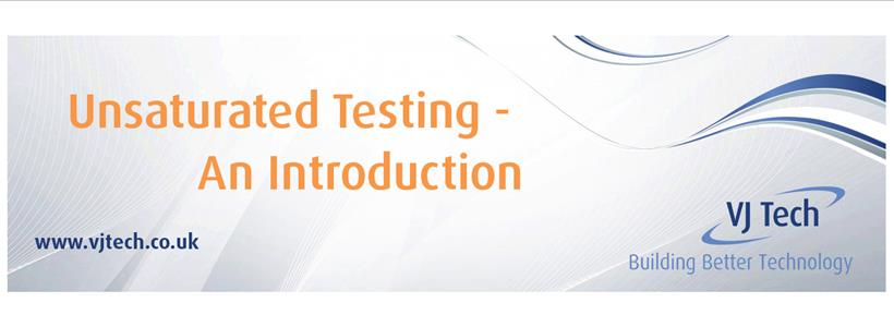 Introduction to unsaturated triaxial testing