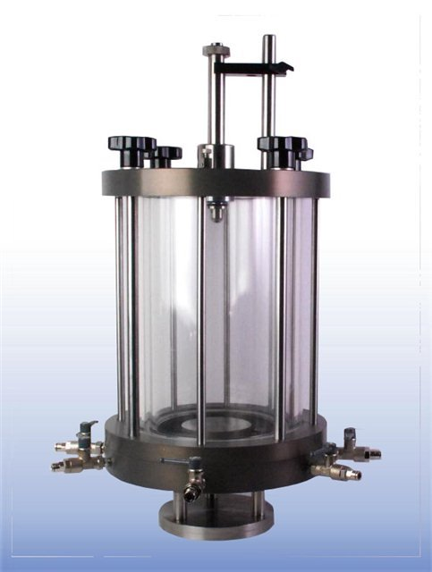 "100 mm (4"") Double Walled Triaxial Cell"