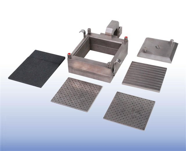 Shearbox Assembly (100mm Square Sample)