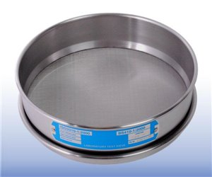 VJT-300W-xxxMU - Stainless Steel Mesh Sieve (300 mm diameter - selected µm apertures)