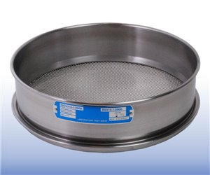 VJT-300W-xx.xxMM - Stainless Steel Mesh Sieve (300 mm diameter - selected mm apertures)