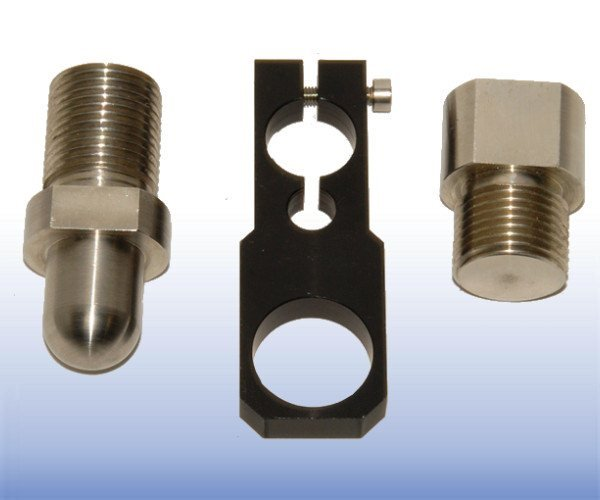Adaptor Set to use 50 kN S-Beam Load Cell for Triaxial Test (LSCT)