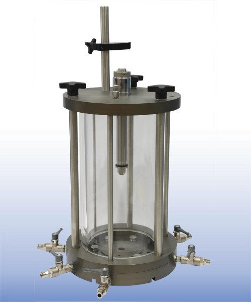 VJT0400-BE - 100 mm triaxial cell for Bender Elements & On-sample Transducers