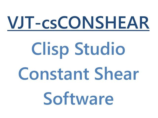 VJ Tech Ltd Clisp Studio Constant Shear Software Module