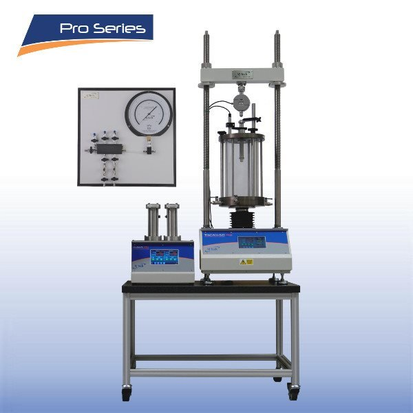 Automated Pro Triaxial Testing System