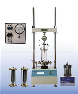 Semi-Automatic Air/Water Pressure Triaxial Testing System